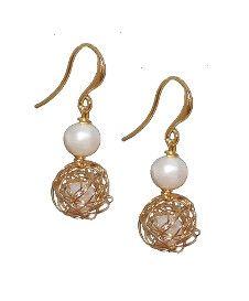 Wired pearl earrings #shireleybird Jewellery Golden Jewelry, Pearl Earrings, Drop Earrings, Jewels, Jewellery, Pearl Studs, Jewerly, Schmuck, Drop Earring