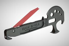 the Lil'Trucker multi-tool The Modern Ninja's thoughts: I've been working on… Best Multi Tool, Firefighter Tools, Edc Gadgets, Survival Tools, Survival Stuff, Edc Tactical, Glass Breaker, Auto Glass, Edc Gear