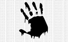 Bloody Hand SVG for Download