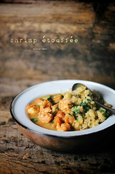 shrimp etouffee | A Brown Table