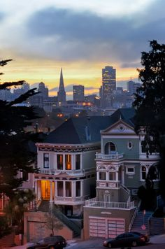 On the West coast? Hop over to San Francisco and walk alongside the classic Victorian homes.