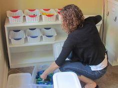Classroom Set-Up: A work in progress by Teach Preschool