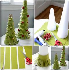 Handmade decorations for Christmas
