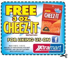 FREE Cheez-It Crackers