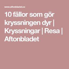 10 fällor som gör kryssningen dyr | Kryssningar | Resa | Aftonbladet