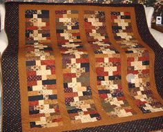 Kansas Troubles - Fiddlesticks pattern...would be great for my Kansas Troubles scraps