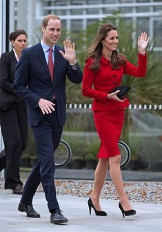 Duchess Catherine and Prince William tour the Botanical Gardens in Christchurch. 14 Apr 2014