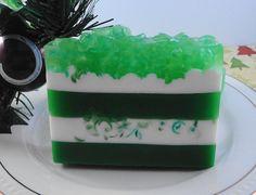 Christmas Soaps - Santa's  Tree Farm  - Glycerin Soaps - Holiday Soaps on Etsy, $5.50