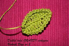TANT GRÖN: Mina Blad Free Crochet, Crochet Earrings, Crochet Patterns, Barbie, Knitting, Sewing, My Love, Flowers, Leaves