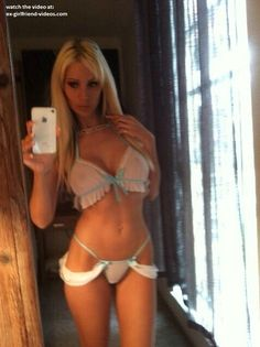 Sexy lingerie selfshot