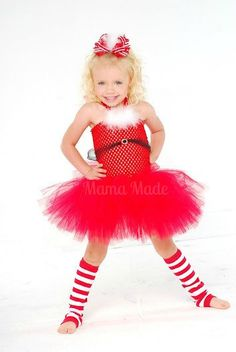 Santa Tutu Dress Santa Baby Tutu Dress Christmas by mamamadebows, $36.00+