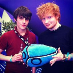 Jake Bugg and Ed Sheeran