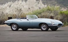 1966 Jaguar E-Type Series I 4.2-Litre Roadster to be auctioned off at Pebble Beach this summer. Get pre-approved with Premier Financial Services today. #Jaguar #PebbleBeach #Auction