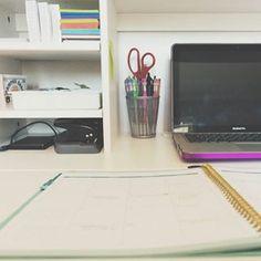 I just got a new desk and I love it  Desk tour #ontheblog!
