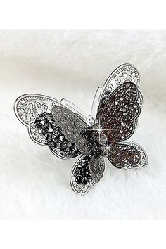 Oversized Butterfly Ring $13