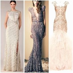 reception dresses for black tie/glam wedding