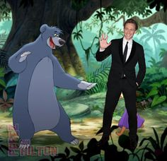 Loki Sings Disney!!!  Tom Hiddleston Singing Bear Necessities From The Jungle Book Is What You NEED TO WATCH Right Now!