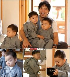 Actor Song Il-gook and his triplets are finishing with 'The Return of Superman'. 'The Return of Superman' officials claim that Song Il-gook and the triplets finished filming their part on the However, their final episode won't be until February. Song Il Gook, Relaxation Pour Dormir, Superman Kids, Man Se, Song Triplets, Korean Variety Shows, Song Daehan, Korean Celebrities, Celebs