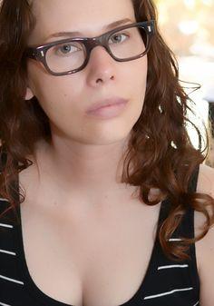 Vintage Horn Rimmed Grey Smoke Eyeglasses USA NOS 44/22 by JustheGoodStuff on Etsy
