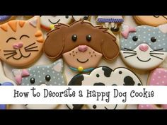 Flour Box Bakery — Happy Dog Video Tutorial (and Veterinarian cookies!)
