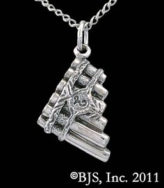 Eolian Talent Pipes Necklace, Officially Licensed Kingkiller Chronicle Jewelry...incredible...