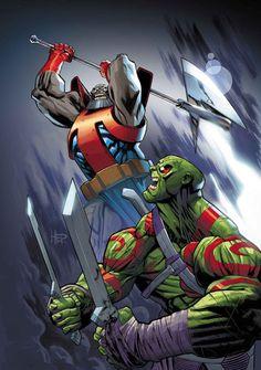 Drax vs. Terrax, the tamer