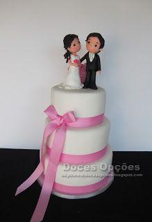 Doces Opções: Bolo de Casamento