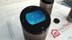 LG's SmartThinQ wants to be the main hub for your smart home | Last week, LG introduced the SmartThinQ Hub, an Amazon Echo-esque device designed to be the center piece that controls your smart home, and it brought it to CES 2016 for everyone to see. #CES2016