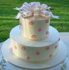 Fun bridal shower cake