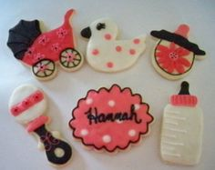 Baby Girl Sugar Cookies