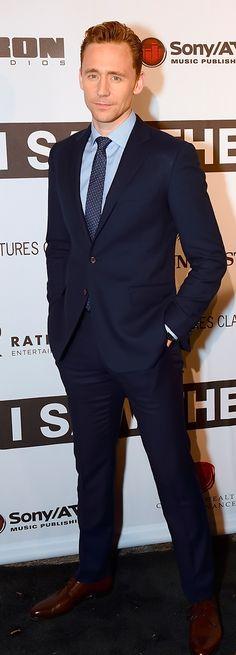 Tom Hiddleston at the I Saw The Light Nashville premiere on October 17, 2015. #SuitPornSunday. (Via tomhiddleston.us & Torrilla) Photoset: http://maryxglz.tumblr.com/post/156526658737/tom-hiddleston-at-the-i-saw-the-light-nashville
