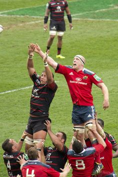 Paul O'Connell Lineout Munster Rugby, Irish Rugby, Legends, Funny, Sports, Sport, Ha Ha, Hilarious, Entertaining