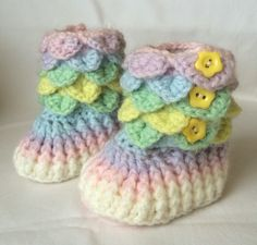 Crochet Baby Slipper Boots Size 0-6 Months. Available Online To Buy From Crochet Away For A Great Deal On Crochet Baby Slipper Boots Size 0-6 Months. Or Any Other Unique Handmade Craft Gifts And Creative Gift Ideas Visit Stallandcraftcollective.co.uk #2236