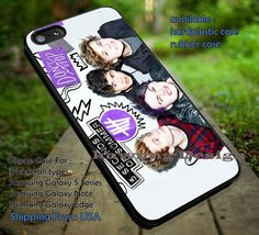 5 Seconds of Summer Don't Stop 5 Cover Ver2 iPhone 6s 6 6s  5c 5s Cases Samsung Galaxy s5 s6 Edge  NOTE 5 4 3 #music #5sos dt