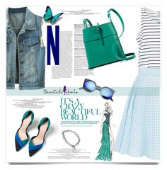 """Beautifulhalo.com"" by nastyaafanasova ❤ liked on Polyvore featuring Prada, Zara, Kara, Revo, Tiffany & Co., women's clothing, women, female, woman and misses"