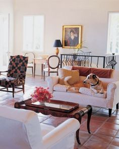 "See the ""Living Area"" in our Home Tour: Ojai California Villa gallery"