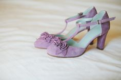 Carpinteria Ranch Wedding from Marianne Wilson Photography - Cute Shoes, On Shoes, Me Too Shoes, Pretty Shoes, Silver Wedding Shoes, Color Violeta, Lace Heels, Bride Shoes, Wedding Accessories