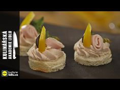 Kanapky se šunkou - Roman Paulus - Kulinářská Akademie Lidlu - YouTube Lidl, Roman, Cheesecake, Toast, Cooking, Youtube, Desserts, Food, Meal