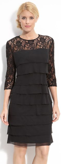 Lace overlay for dress