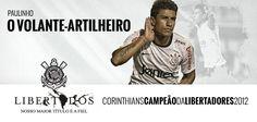Paulinho (Midfield) - Sport Club Corinthians Paulista - Copa Santander Libertadores Champion 2012
