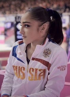 Aliya Mustafina. Still love her muchly. Can't wait to see her in 2016 Olympics. She is amazingly skilled.