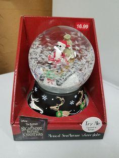 Santa Jack musical globe
