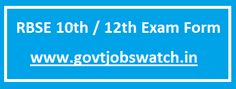 Govt Jobs Watch - One stop solution for Govt Job Notifications 12th Exam, Railway Jobs, Bank Jobs, Board Exam, Watch One, Online Form, Teaching Jobs, Application Form, Apply Online