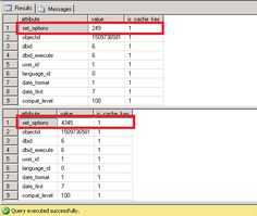 Tip of the Day - SQL Server stored procedure runs fast in SSMS and slow in application