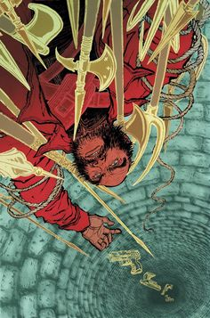 Yuko Shimizu, Cover created for DC Comics Vertigo series The Unwritten issue No. Yuko Shimizu, Type Illustration, School Of Visual Arts, Comic Book Covers, Japanese Artists, Background Patterns, Trick Or Treat, Book Design, Cool Kids