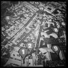 La cartina dell'Instawalk di @_alispage_ #invasionidigitalimarche #invasionidigitali #marche #urbino #urbino2019 #italia #instawalkurbino #igersmarche #igersitalia