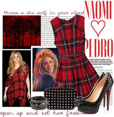 """""""#345 (Shakira)"""" by lauren1993 ❤ liked on Polyvore"""