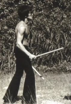 .Bruce Lee the inventor and founder of Jeet Kune Do - the way of intercepting fists.