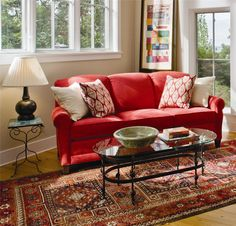 Peter Lorentz 374 Stationary Sofa with Rolled Arms - Darvin Furniture - Sofa Orland Park, Chicago, IL