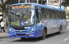 Ônibus da capital circulam com cor diferente do determinado para a linha +http://brml.co/1CUEkcT